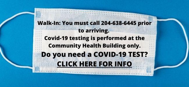 Covid & Walk-In Information