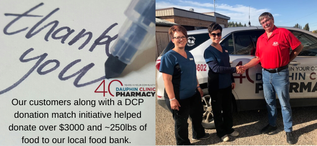 DCP & ITS CUSTOMERS HELP WITH BIG DONATION!